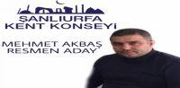 Urfa Kent Konseyi Başkanlığına Mehmet AKBAŞ